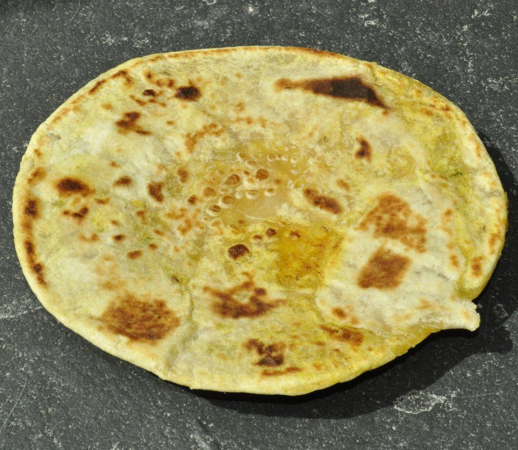 Masala Aloo (potato) Paratha