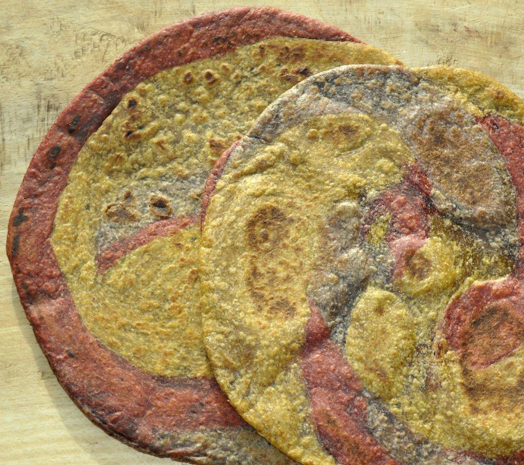 Tricolour Paratha