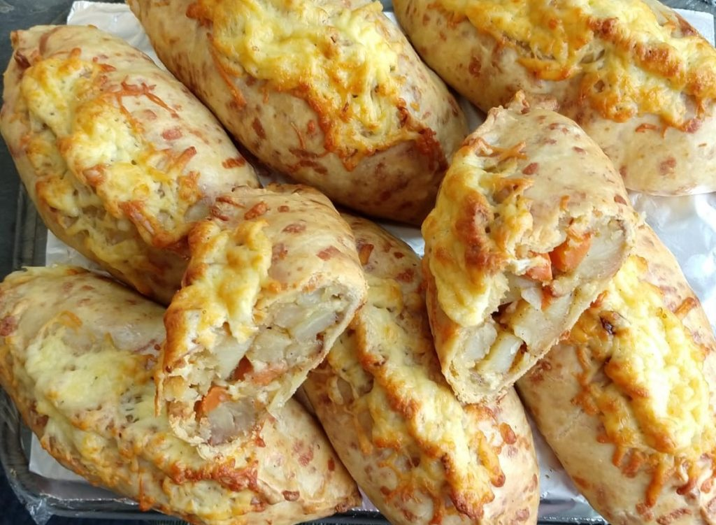 Veg and Cheese Pasties
