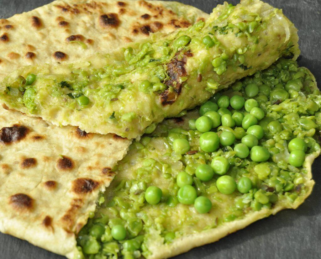Green Peas Paratha