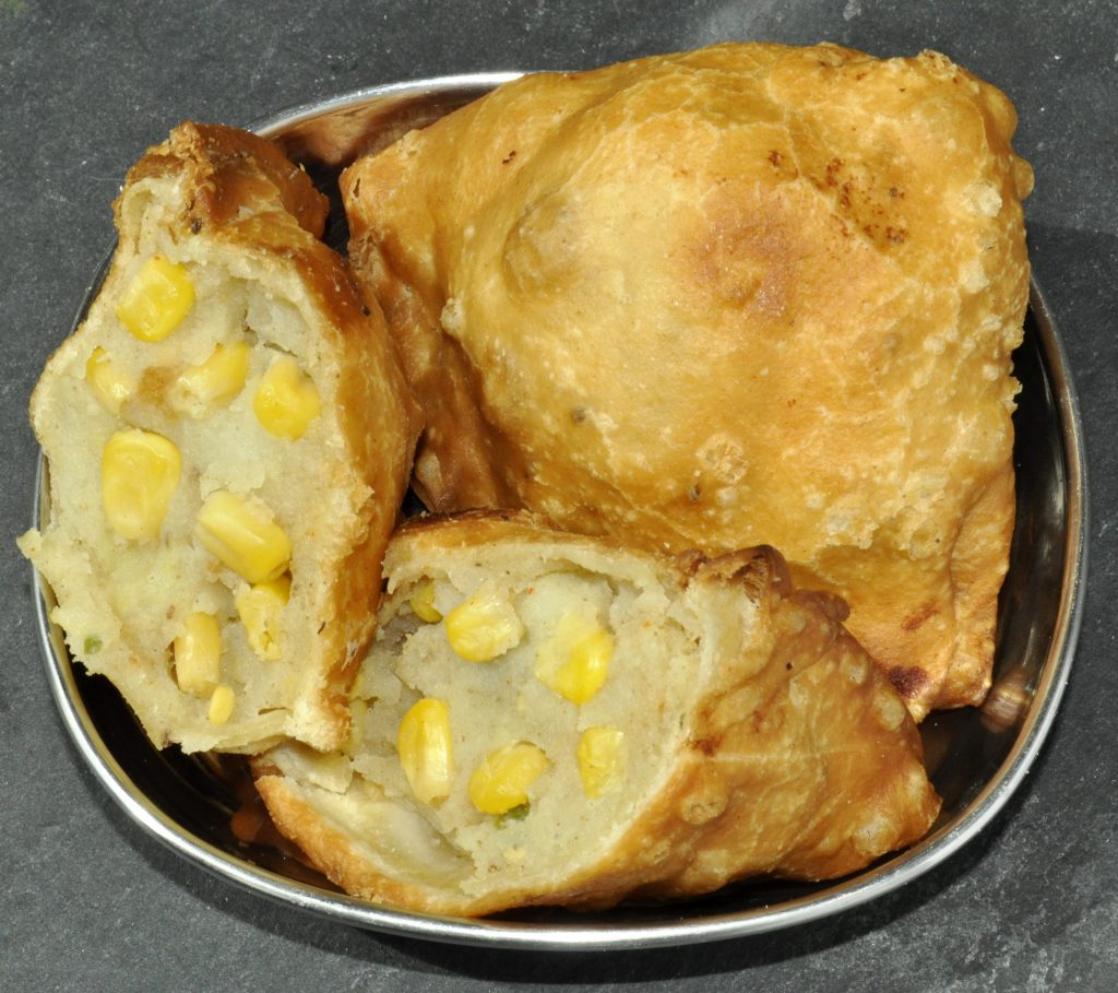 Sweetcorn Samosa